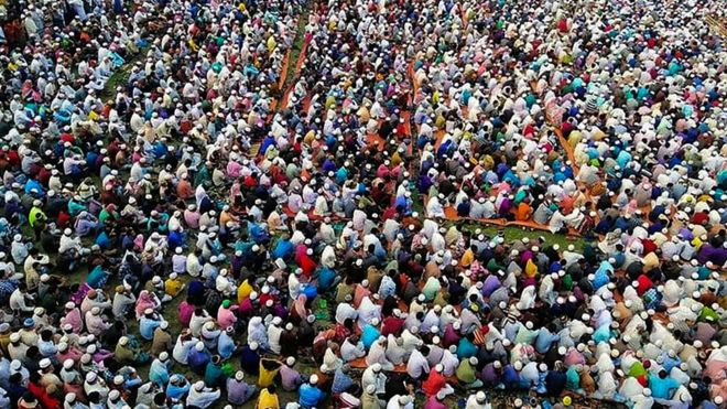 Coronavirus bangladesh gathering mass prayer