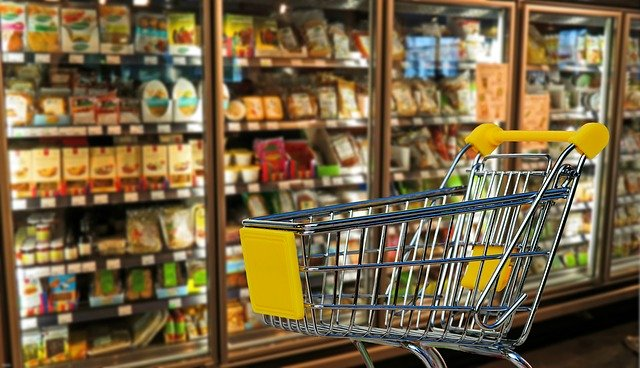supermarket get rid of products because woman coughed on food, supermarket get rid of food