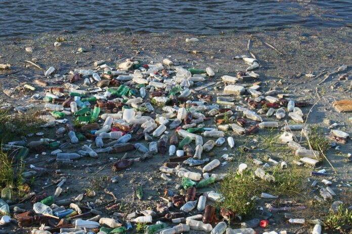 A rise in plastic waste caused by Covid 19