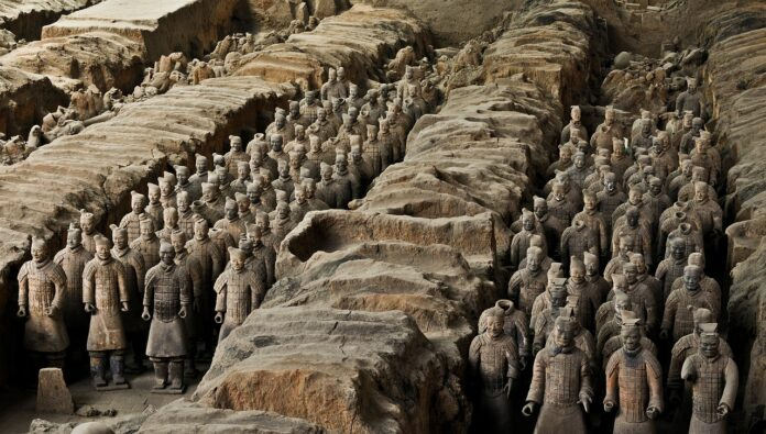 The Terracotta Army of china