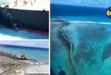 Photo of Environmental Disaster in Mauritius: Oil leaking from a bulk ship sparking fears among the inhabitants of the island